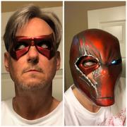 Tiger Stone FX Arkham Knight inspired Robin mask - Jason Todd, Red Hood, Tim Drake - Can be made in various colors Review