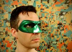Tiger Stone FX Green, red, blue, white etc Lantern Hal Jordan, Alan Scott etc inspired Lantern mask (can be made in various colors) Review