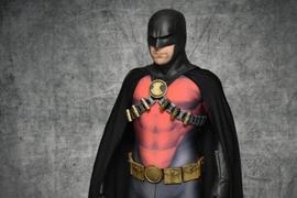 Tiger Stone FX Earless comic cowl (original design) - Great for Red Robin, Space Ghost, Midnighter etc cosplays :) Review