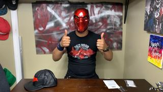 Tiger Stone FX Red Hood helmet - custom (original) design - Deep Metallic Red Review