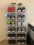 LaceSpace Laces Drop Front Sneaker Display Cases | Clear - Pack of 6 Cases Review
