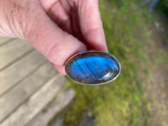 Sivana Labradorite Oval Gemstone Ring - Adjustable Review