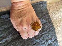 Sivana Citrine Druzy Square Gemstone Ring - One of a Kind Review