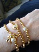 NOGU.ca Queen | Or 18 carats | Examen du bracelet à breloques en cristal Honeybee