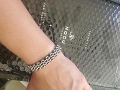 NOGU.ca Liens Panda | Bracelet original Kismet | Critique Black x Silver