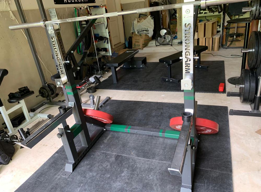 Combo Squat Rack Bench Press 3 0 Box 2