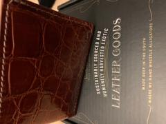Southern Trapper The Admiral Beaver Tail & Alligator Wallet Review
