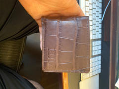 Southern Trapper The Captain Chocolate Alligator Skin Wallet Review