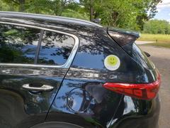 Hit Happy Tennis Hit Happy Car Magnet Review