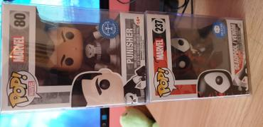 PPJoe Pop Protectors PPJoe Pop Protectors 4, New 0.45mm Thickness, Funko Vinyl Protection [5 Pack] Review