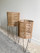 Holistic Habitat  Seagrass Planter Baskets on Iron Hairpin Base Review