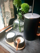 Holistic Habitat  Matte Black Cream and Sugar Serving Station with Wood Tray Review