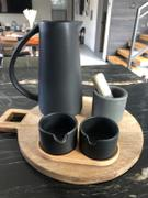 Holistic Habitat  Matte Black Stoneware Pitcher Review