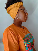 The Wrap Life Citrine Ribbed Stretch Head Wrap Review