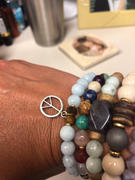 HorseFeathers Jewelry & Gifts Peace Sign | Yellow Jade Charm Bracelet Review