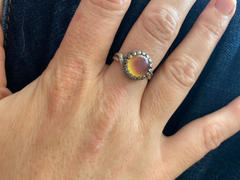 HorseFeathers Jewelry & Gifts Small Vintage Silver Mood Ring Review