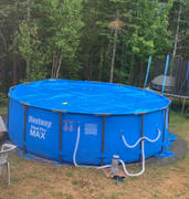 Pool Store Canada Above Ground Pool Solar cover -  15' Diameter Round Review