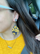 Earrings by Emma Teardrop Faux Druzy Earrings (Studs) Review
