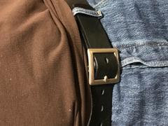 Sword & Plough Men's Leather Belt Review