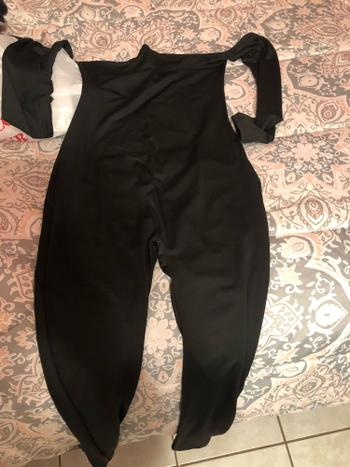 Tumblebee Clothing Suave Off Shoulder Jumpsuit - Black Review