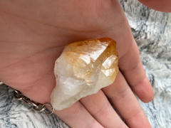 The Psychic Tree Citrine Point Keyring Review