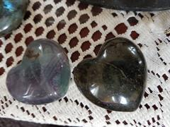 The Psychic Tree Large Fluorite Heart Healing Crystals Review