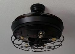 7PM Home Chandelier Ceiling Fan Industrial Design Review