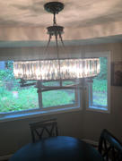 7PM Home Antiques Contemporary Vintage Round Crystal Chandelier Review