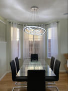 7PM Home LED Multiple Rings Galaxy Crystal Chandelier Review