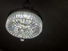 7PM Home Dimmable Fandelier with Crystal Lights and Retractable Blades Review