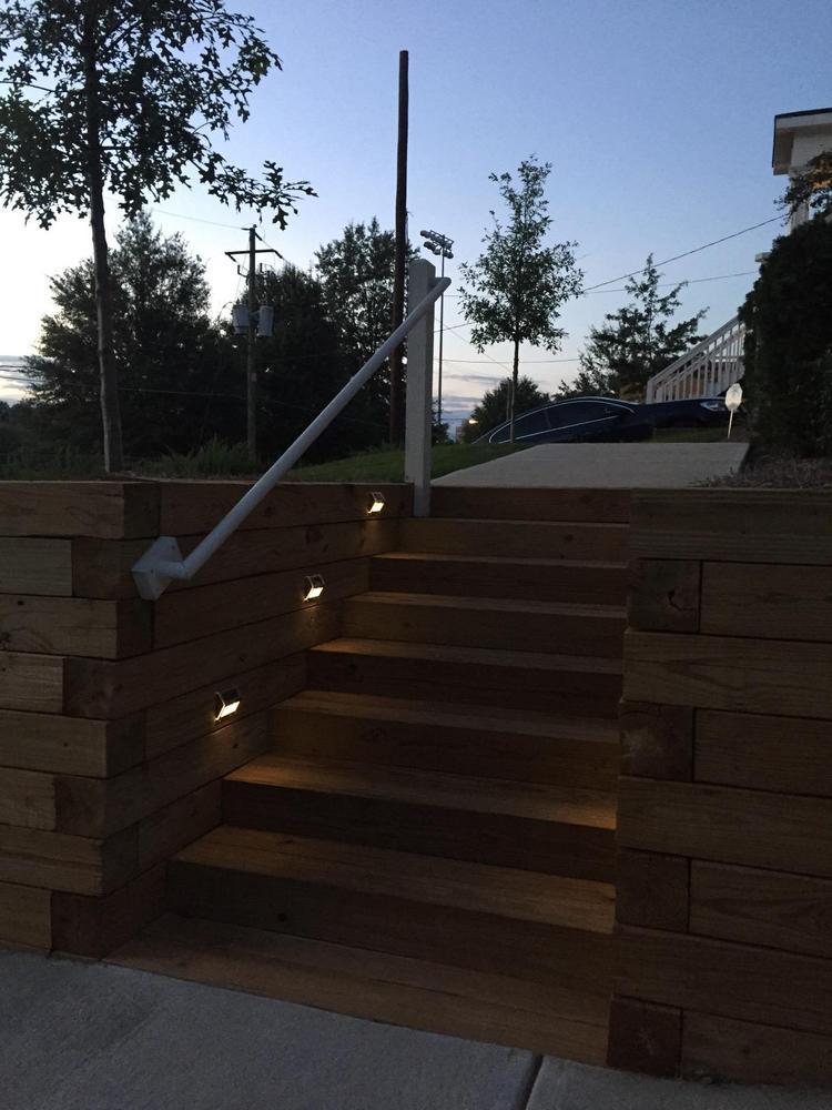 Eclairage Contre Marche Led eclairage solaire marche escalier extérieur │ lampe led