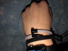 Elevated Faith Classic Grey Leather Nail Bracelet Review