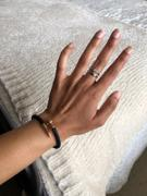 Elevated Faith Black + Rose Gold Leather Nail Bracelet Review