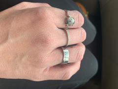 Elevated Faith FRGVN Matte Silver Ring Review