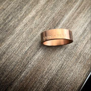 Elevated Faith Rose Gold Highs and Lows Circle Ring Review