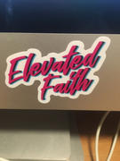 Elevated Faith Elevated Faith Cursive Sticker Review