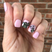 Maniology The Gardener Collection: Spanish Moss (B243) - Dusty Green Stamping Polish Review