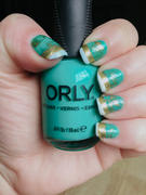 Maniology Holiday Party Collection: It's Lit (B262) - Gold Metallic Stamping Polish Review