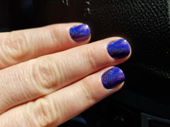Maniology Mani x Me May 2019: Starfish (B279) - Holographic Purple Stamping Polish Review