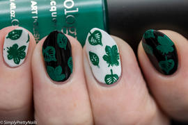 Maniology Night Forest: Pine (B298) Emerald Green Stamping Polish Review