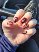 Maniology Darkest Night: Evil Eye (B308) Metallic Scarlet Red Stamping Polish Review
