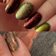 Maniology Winter Layers: Christmas Lights (m080) - Nail Stamping Plate Review