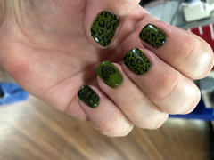 Maniology Stocking Stuffer: Evergreen (B315) - Olive Green Stamping Polish Review