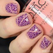 Maniology Perennials Collection: Restless Dahlia (B232) - Salmon Pink Cream Stamping Polish Review