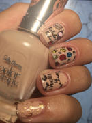 Maniology Occasions: Birthday Behavior (m116) - Nail Stamping Plate Review