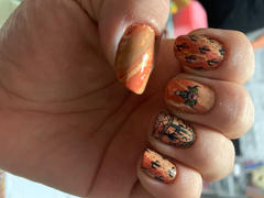 Maniology Mani x Me March 2020: Indio (B332) - Burnt Orange Stamping Polish Review
