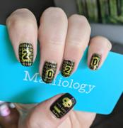Maniology The Ultra Chic Geek - Set of 4 Nail Stamping Plates Review
