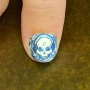 Maniology Musik City Collection: The Rythmn, The Rythmn/Seeing Monsters (m123) - Nail Stamping Plate Review