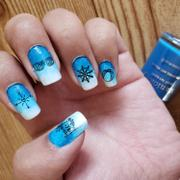 Maniology CYO Design Contest 2019: Sun & Sand (m104) - Nail Stamping Plate Review