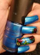 Maniology Fuzzy & Ferocious XL: Pretty Birds/A Bug's Buffet (m138) - Nail Stamping Plate Review